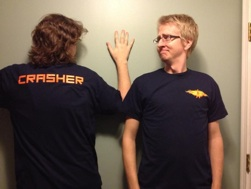 Crasher T Front & Back